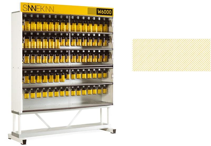 Sistema bicapa de pintura para coches Serie W6000