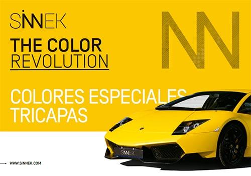 Curso para aplicación de colores tricapa complejos