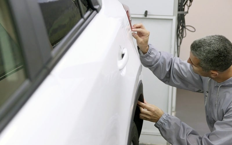 Comprobar pintura coche