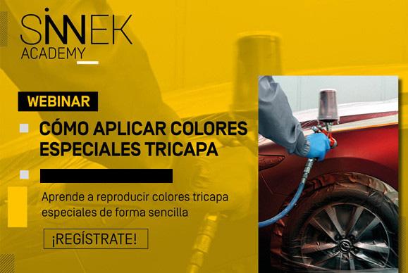 Webinar cómo aplicar colores tricapa
