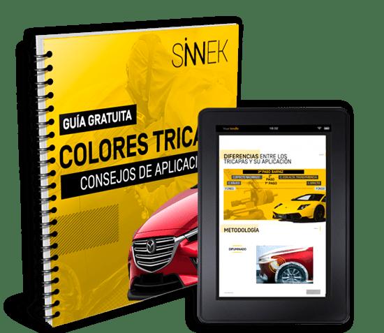 guía aplicación colores tricapa complejos